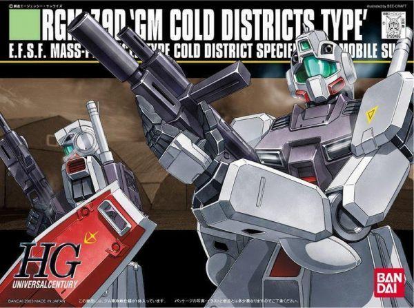 【現貨】BANDAI 鋼彈1/144 HGUC#038 RGM-79D 寒帶型吉姆 BANDAI 鋼彈1/144 HGUC#038 RGM-79D 寒帶型吉姆