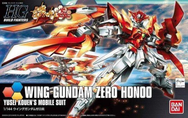 【現貨】BANDAI 1/144 鋼彈創鬥者 Wing Gundam Zero Honoo 飛翼零式 炎  BANDAI 1/144 鋼彈創鬥者 Wing Gundam Zero Honoo 飛翼零式 炎
