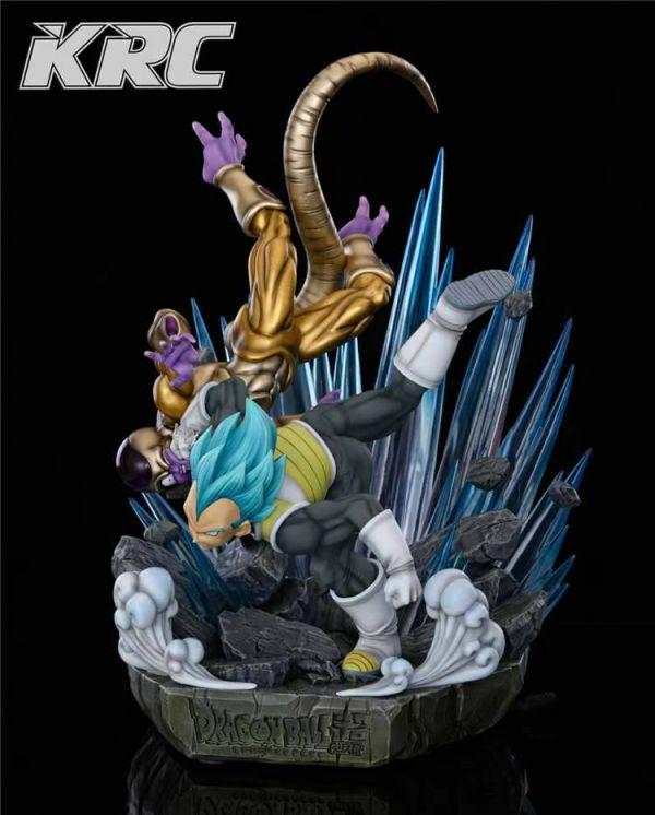 【預購】KRC 七龍珠 超藍貝吉塔vs黃金弗利薩 1/6比例雕像 KRC 七龍珠 超藍貝吉塔vs黃金弗利薩 1/6比例雕像