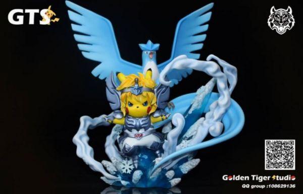 【GK預購】 GTS 聖鬥士星矢 寶可夢 急凍鳥座 冰河 GK雕像  GTS 聖鬥士星矢 寶可夢 急凍鳥座 冰河 GK雕像