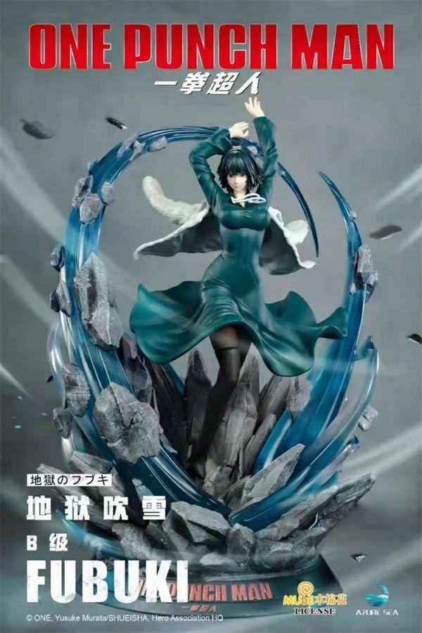 【預購】AzureSea 正版授權 一拳超人 地獄吹雪 1/6比例雕像 AzureSea 正版授權 一拳超人 地獄吹雪 1/6比例雕像