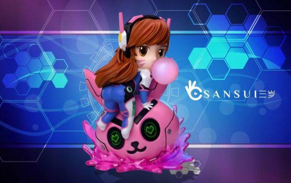 【預購】三歲studio Q版美少女第一彈 粉色泡泡DVA 三歲studio Q版美少女第一彈 粉色泡泡DVA