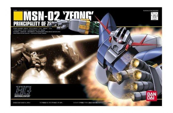 【現貨】 BANDAI 鋼彈UC HGUC 1/144 #022 MSN-02 ZEONG 吉翁克  BANDAI 鋼彈UC HGUC 1/144 #022 MSN-02 ZEONG 吉翁克