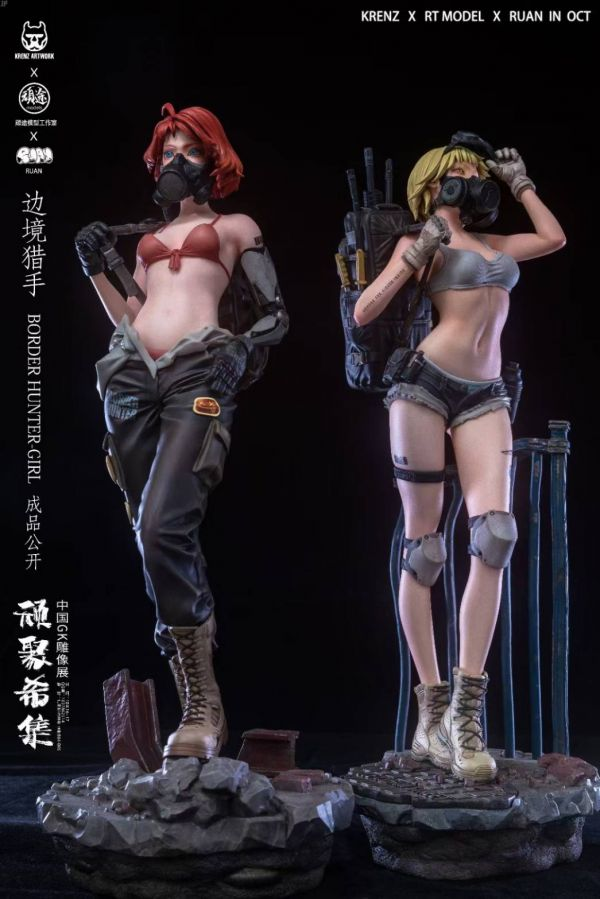 【預購】頑途 邊境獵手BorderHunter Girl GK限量雕像模型 頑途 邊境獵手BorderHunter Girl GK限量雕像模型