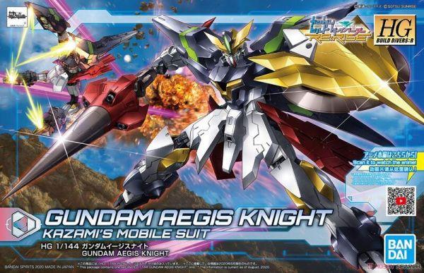 HGBD:R #033 1/144 神盾騎士鋼彈 HGBD:R #033 1/144 神盾騎士鋼彈