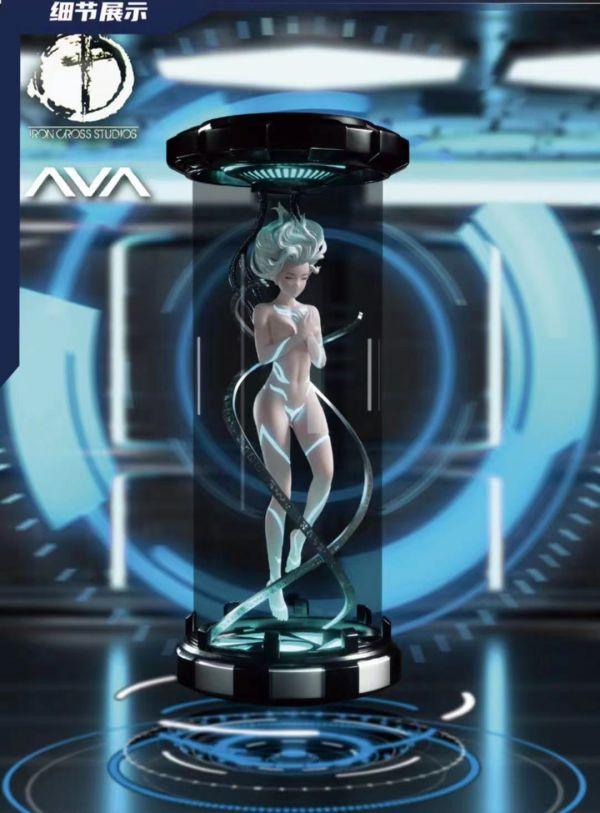 【預購】鐵十字工作室IRON CROSS STUDIOS 未來的神秘科技少女 AVA 鐵十字工作室IRON CROSS STUDIOS 未來的神秘科技少女 AVA