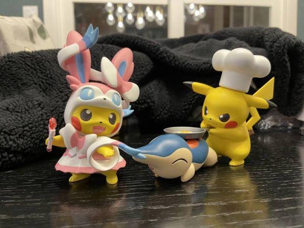 【GK預購】CM & FD工作室私訂 廚師皮卡丘+火球鼠 CM & FD工作室私訂 廚師皮卡丘+火球鼠