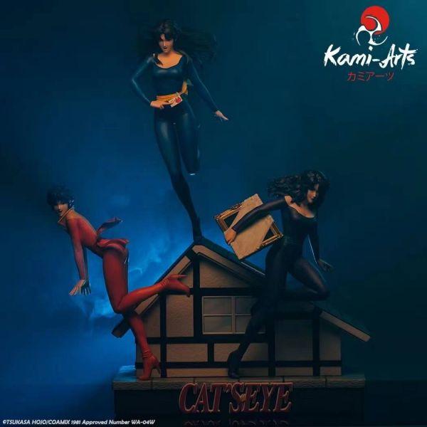 【預購】Kami Arts 日漫《貓眼三姐妹》來生淚 來生瞳 來生愛 1/6 雕像 Kami Arts 日漫《貓眼三姐妹》來生淚 來生瞳 來生愛 1/6 雕像