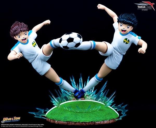 【預購】TAKA  足球小將翼 大空翼 岬太郎 雙人場景雕像 TAKA 足球小將翼 大空翼 岬太郎 雙人場景雕像