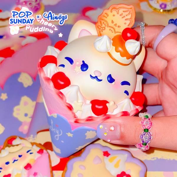 【預購】POP SUNDAY Ainoga可麗餅夏季冰激凌GK限量模型 三口味可選 POP SUNDAY Ainoga可麗餅夏季冰激凌GK限量模型