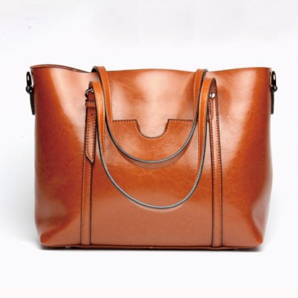 真皮潮流時尚女用手提購物袋 簡單實用肩背包-MK033 真皮潮流時尚女用手提購物袋 簡單實用肩背包-MK033