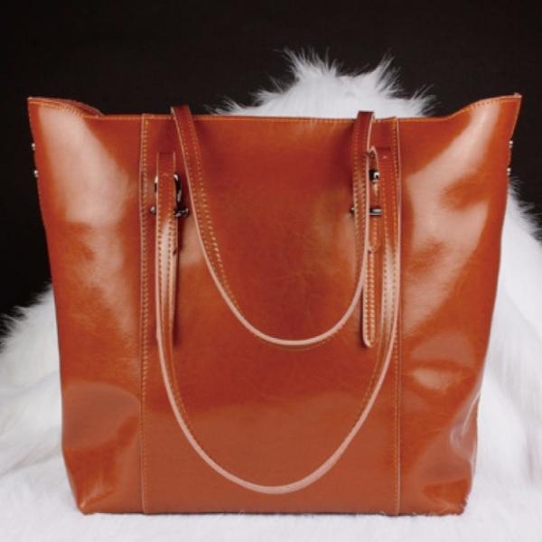 真皮肩背包 簡單實用手提購物袋-MK030 真皮肩背包 簡單實用手提購物袋-MK030