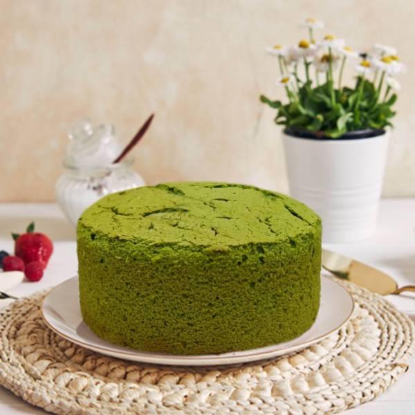 抹茶布丁蛋糕(6吋)