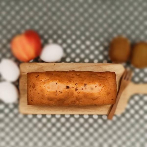 伯爵玫瑰磅蛋糕 1條/盒