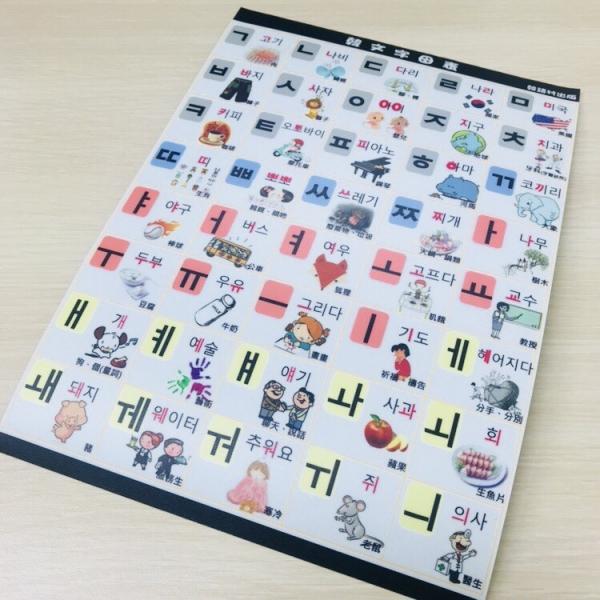韓語字母表