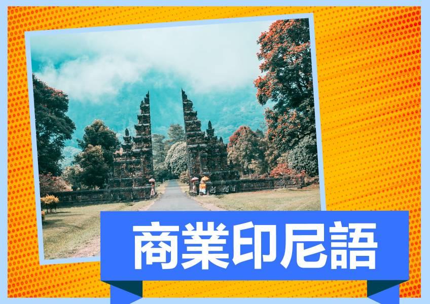[ 會員日| 商業印尼語全套教材 ] 折扣代碼member66 (5本實體講義+20小時以上影片)