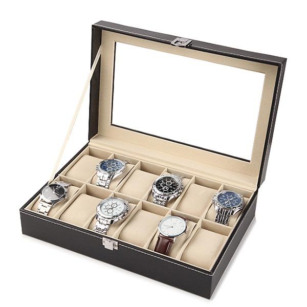 精緻時尚腕錶收納盒 - 12格款 腕錶,手錶,男錶,三眼錶,
