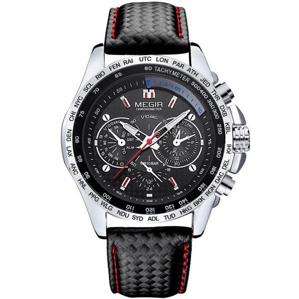 極限競速 賽車大錶盤腕錶 MG1010 手錶,腕錶,男錶,三眼錶,競速,賽車錶