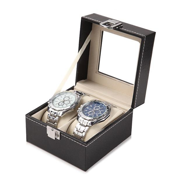 精緻時尚腕錶收納盒 - 2格款 腕錶,手錶,男錶,三眼錶,