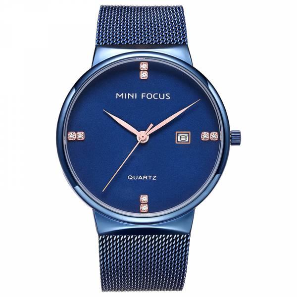 優雅奢華 簡約鋼網帶腕錶 MF0181 手錶,男錶,腕錶