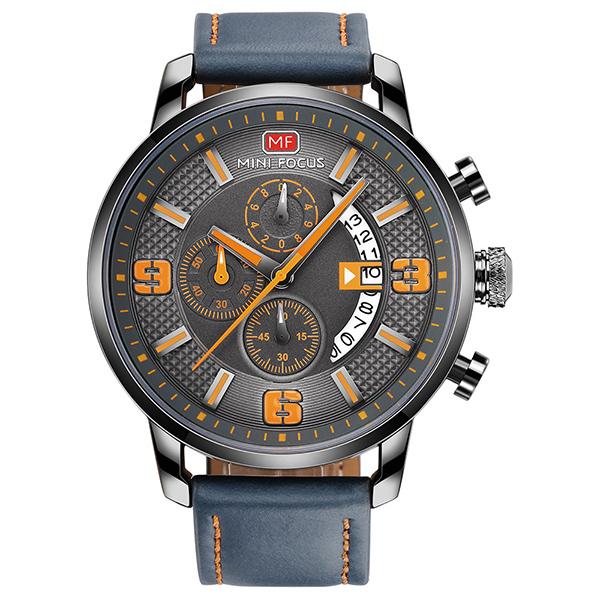 狂野奔馳 運動真三眼腕錶 MF0025 腕錶,手錶,男錶,三眼錶,運動,鋼帶