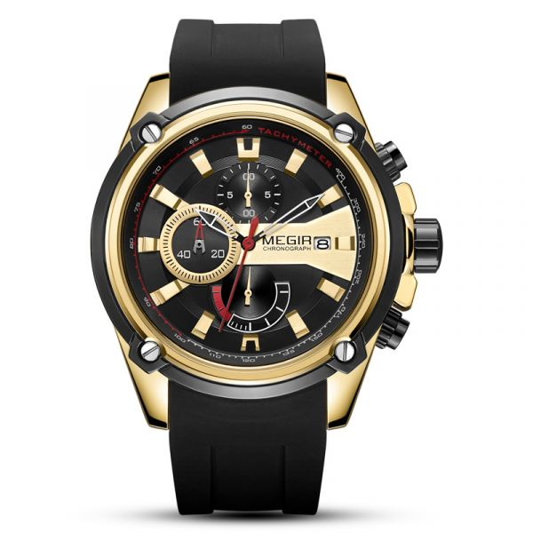 風馳電掣 運動真三眼 MG2086 腕錶,手錶,男錶,三眼錶,