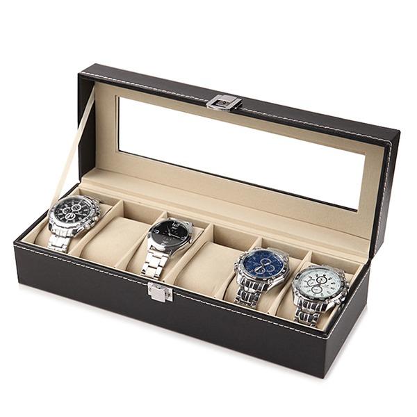 精緻時尚腕錶收納盒 - 6格款 腕錶,手錶,男錶,三眼錶,