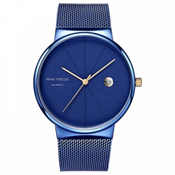 質感格調 簡約鋼網帶腕錶 MF0176 手錶,男錶,腕錶