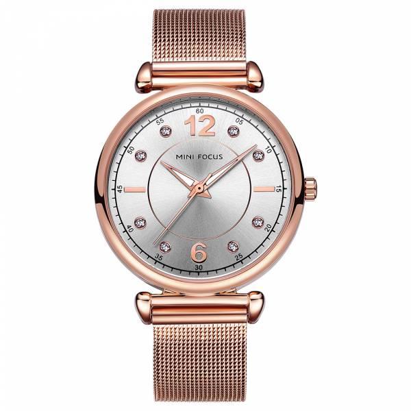 純淨閃耀 鋼網帶女錶 MF0177 腕錶,手錶,女錶,鋼帶,鋼網帶,米蘭