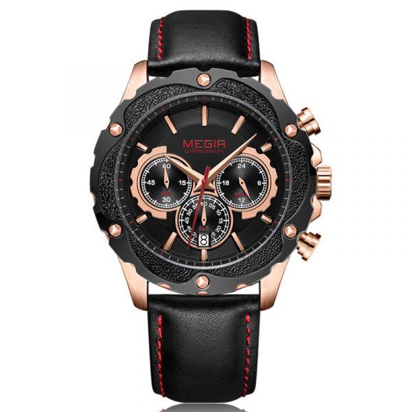 動感花火 運動真三眼 MG2070 腕錶,手錶,男錶,三眼錶,