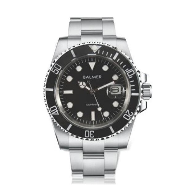經典水鬼鋼帶腕錶 BM7918 賓馬,賓馬7918,賓馬錶,賓馬手錶,男錶,水鬼,鋼帶