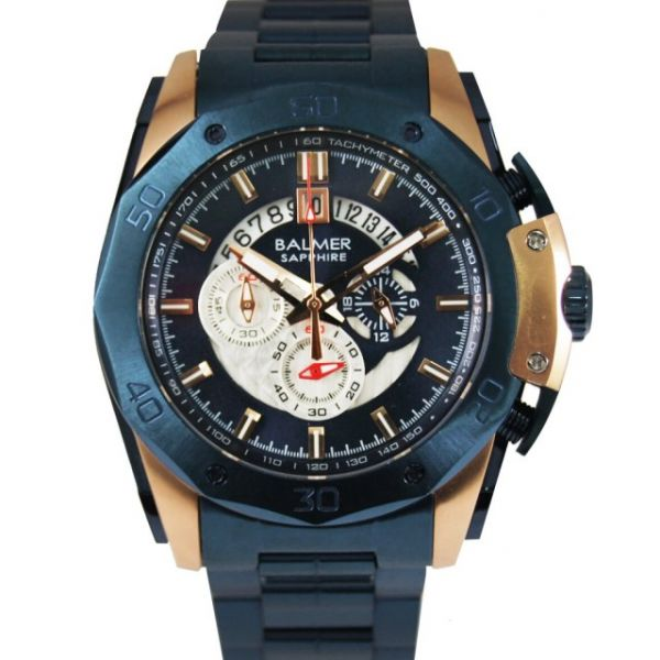 重裝馬皇 真三眼鋼帶腕錶 BM7993 賓馬,馬王,賓馬7993,賓馬錶,賓馬王