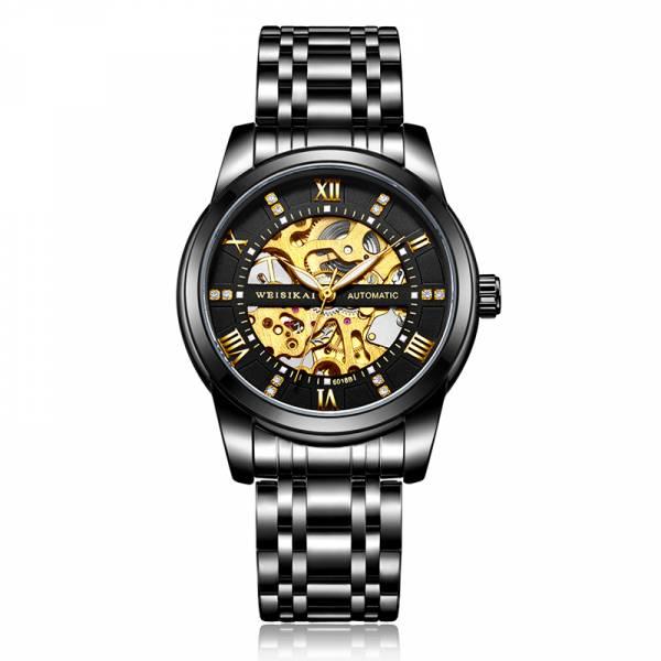 雙面鏤空 機械鋼帶錶 MK6018 手錶,男錶,機械錶,鏤空錶殼,鏤空,雙面鏤空