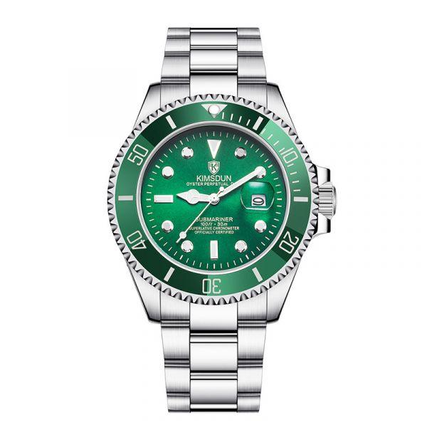 經典水鬼 自動機械腕錶 K-1022A 腕錶,手錶,男錶,機械錶,黑水鬼,綠水鬼