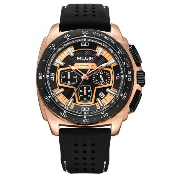 雄者霸氣 霸王真三眼腕錶 MG2056 腕錶,手錶,男錶,三眼錶,賽車,競速