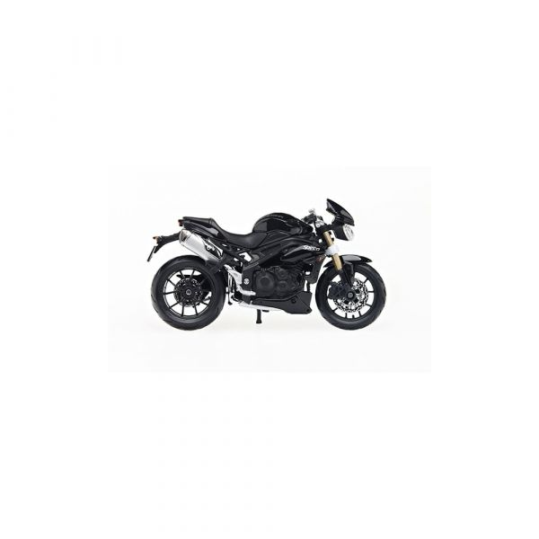 SPEED TRIPLE 1:18 SCALE MODEL BLACK