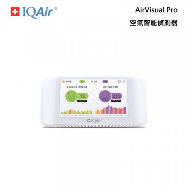 IQAir AirVisual Pro 空氣智能偵測器 IQAir,AirVisual Pro,空氣,偵測器