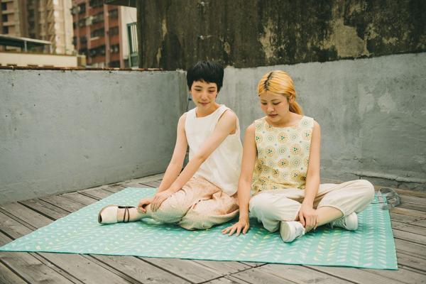 防水野餐墊-四人/台灣八哥5號/樂園綠色 野餐墊, 防水野餐墊