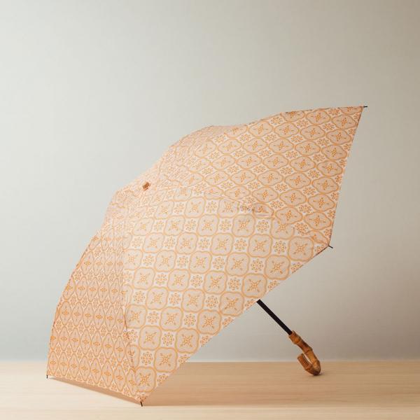 小彎竹柄輕便折傘/玻璃海棠/果實粉紅 晴雨兩用傘, 雨傘, 洋傘, 折疊傘