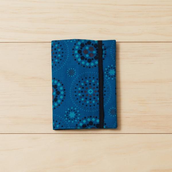 護照書衣/煙火/星夜藍色 護照套, 書衣