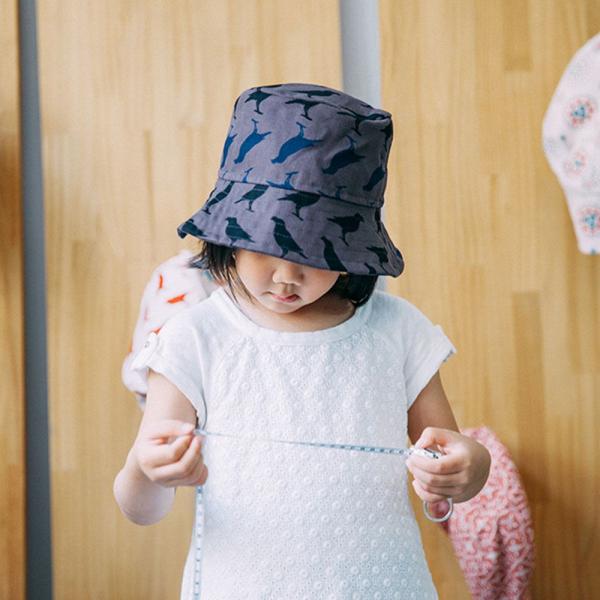 遮陽漁夫帽-兒童/台灣八哥5號/工匠灰黑 兒童遮陽帽, 兒童帽, 漁夫帽