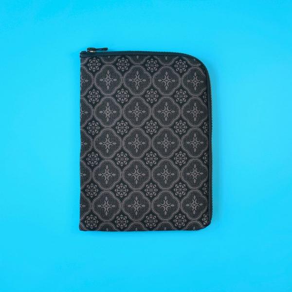 iPad收納包/玻璃海棠/紳士黑色 平板保護殼, 平板保護袋, iPad收納袋
