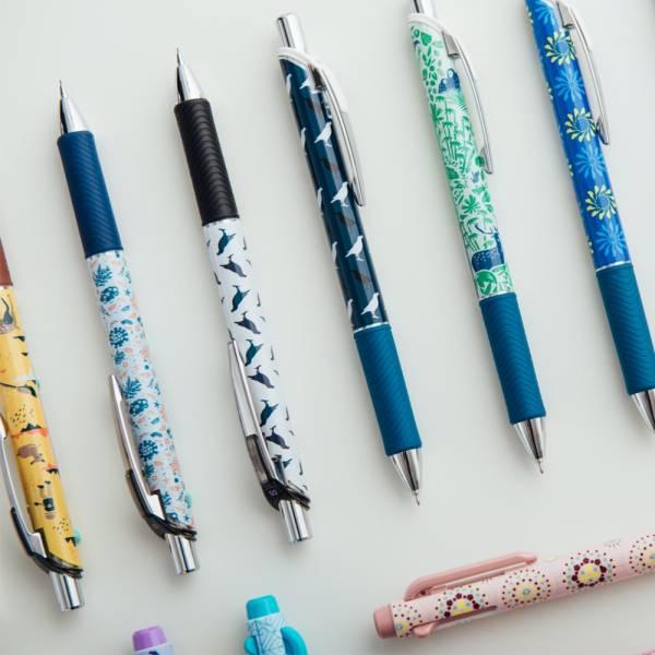 好想收集圖案組─動物森林(鋼珠筆+自動鉛筆+替芯+橡皮擦,各1)