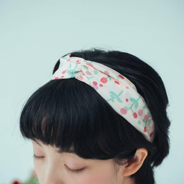 造型髮帶/花草台灣味/圓仔花粉紅 髮帶, 配件, 髮飾, 髮箍