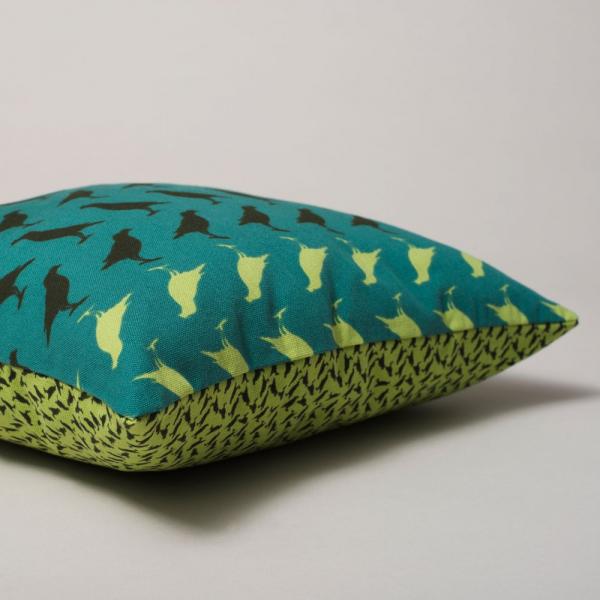 15SS/抱枕套/八哥/綠 抱枕套, 抱枕
