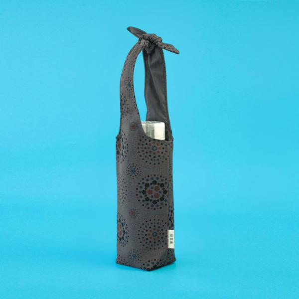 兔耳水壺袋/煙火/夜空灰色 飲料提袋, 環保飲料提袋, 隨行杯提袋, 兔耳袋