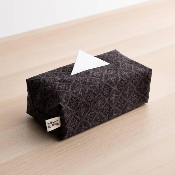 長方形面紙套/玻璃海棠/紳士黑色 面紙套,面紙盒,