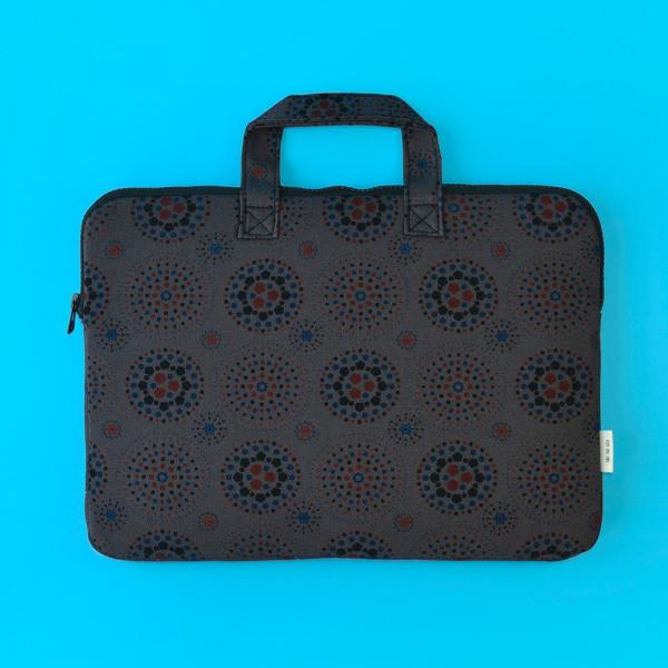 13吋筆電收納包/煙火/夜空灰色 筆電包, 筆電袋
