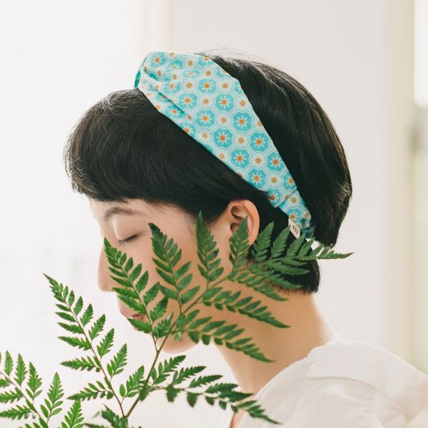 造型髮帶/老磁磚2號/汽水碧藍 髮帶, 配件, 髮飾, 髮箍