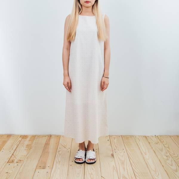A字連身長洋裝/玻璃海棠/杏仁淺褐 2019,連身裙,洋裝,玻璃海棠